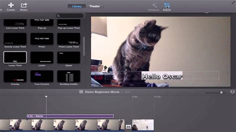 tutorial on imovie imovie 10 tutorial beginners and basics youtube