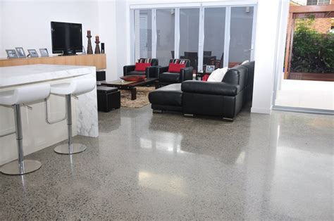 Polished Concrete Interior Floors by Polished Concrete Experts At Ans Coatings Warns Australian