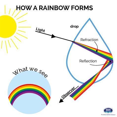 how is a how a rainbow forms