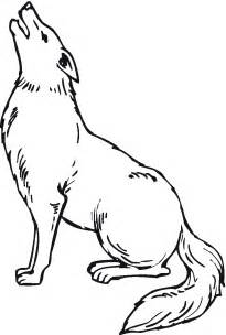 free printable coyote coloring pages for