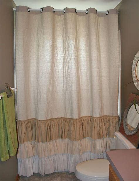jute shower curtain 25 best ideas about burlap shower curtains on pinterest