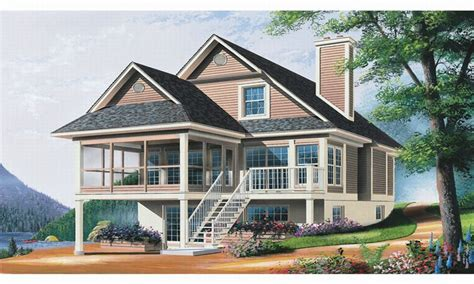 home design for waterfront waterfront homes house plans lowcountry house plans