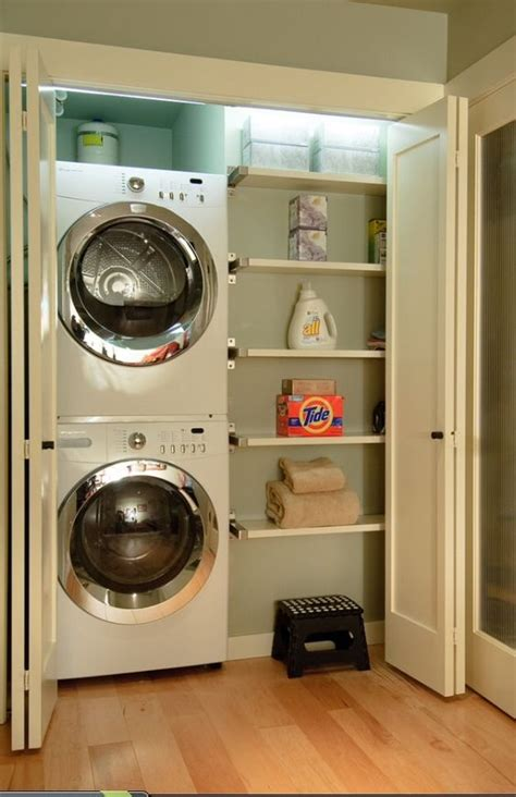 laundry rooms storage and doors 10 awesome ideas for tiny laundry spaces small half