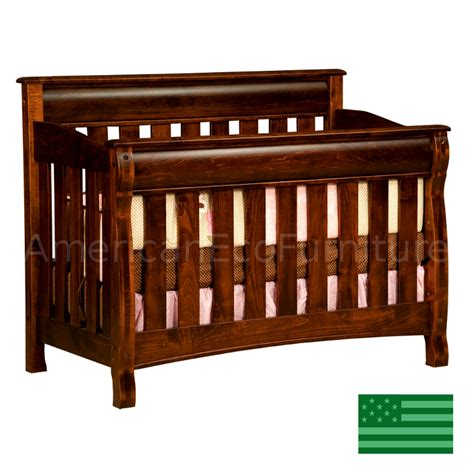 baby cribs 4 in 1 convertible amish caspian 4 in 1 convertible baby crib solid wood