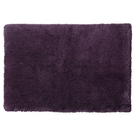 Aubergine Bath Mat by Buy Tesco Luxury Pile Bath Mat Aubergine From Our