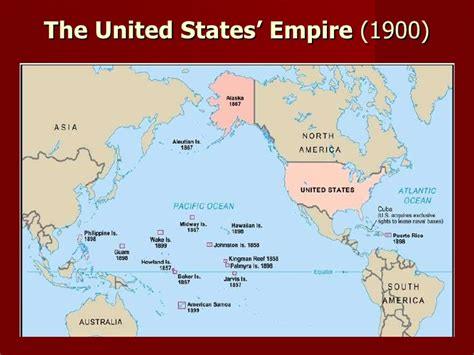 map of the united states empire the age of imperialism