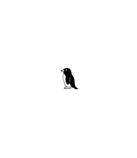Mini Penguin by Mini Pinguin Stempel
