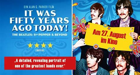 it was 50 years ago today and how i followed four days of it was fifty years ago today beatles stammtisch hannover