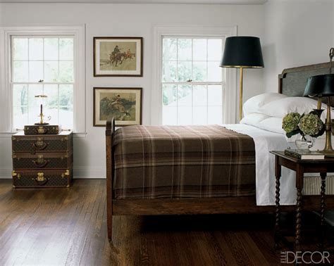 plaid bedroom ideas chic equestrian style in home decor simplified bee