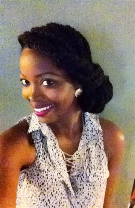 Havana twists/ natural hair style/ protective style