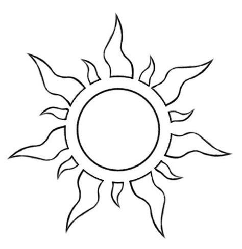 template of the sun tangled sun template nb http fc01 deviantart net fs71 f