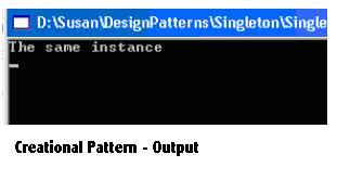 singleton pattern theory c sharp faq