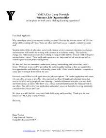 Youth Advisor Cover Letter by Cover Letter Sle Youth