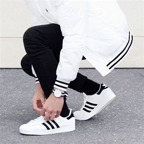 Adidas Neo Baseline Vall Stripes Ii Black White adidas superstar with packaging news weekly co uk