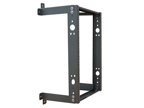 20u Open Wall Mount Frame Rack by 3ft Open Frame Wall Rack 12d 20u Black Computer Cable