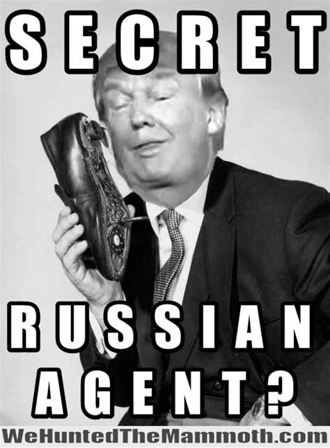 White Russian Meme - secret russian agent trump new memes for new
