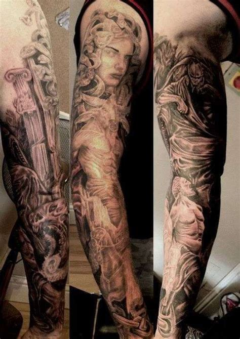 greek god sleeve tattoos 24 best images about mythology tattoos on