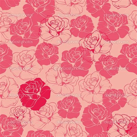 pink vintage pattern background