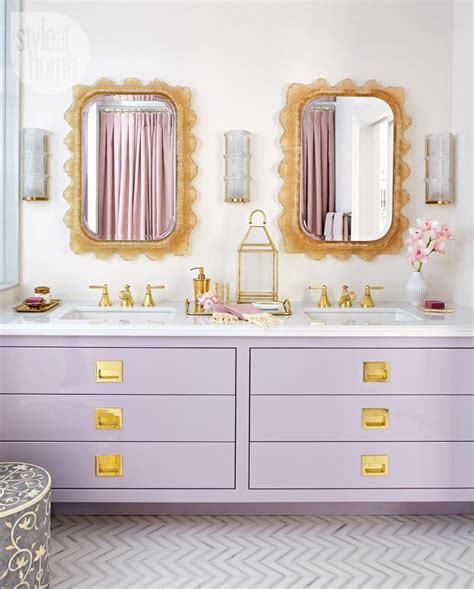 purple and gold bathroom how to keep your bathroom looking new forever shoproomideas
