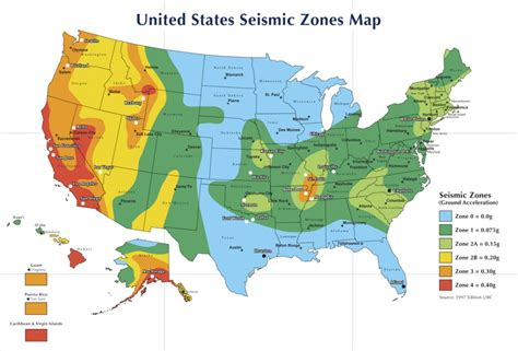 seismic zone map california what happened to seismic zones