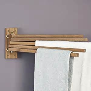 teak towel bar teak wood swing arm towel bar paper towel
