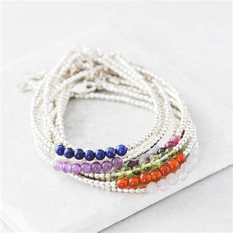 december birthstone bracelet by the