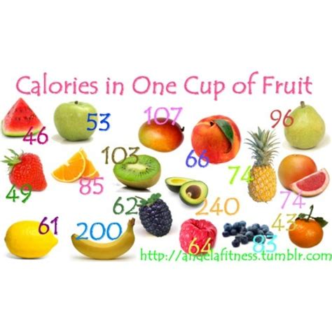 vegetables 1 cup fresh fruit calories in a cup of fresh fruit