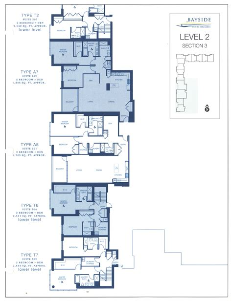 doma section 3 bayside floor plan level 2 section 3