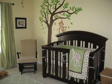 Jungle Themed Nursery Decor Baby Boy Safari Nursery Nursery Designs Decorating Ideas Hgtv Rate My Space Just For My