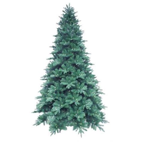 martha stewart living 9 ft blue noble spruce artificial