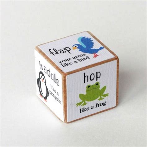 printable animal dice animal movement activity dice movement activities sons