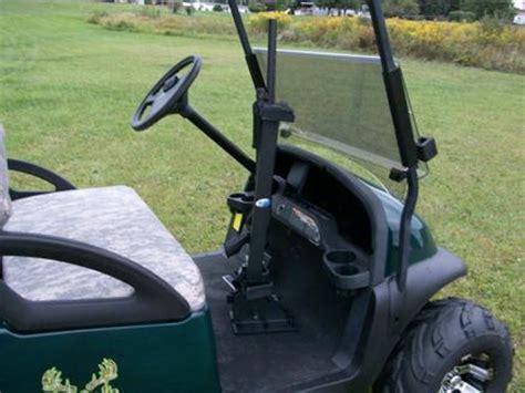 Gun Rack For Golf Cart by 2013 Gun Rack Universal Mount Fits Golf Carts Utv S Or