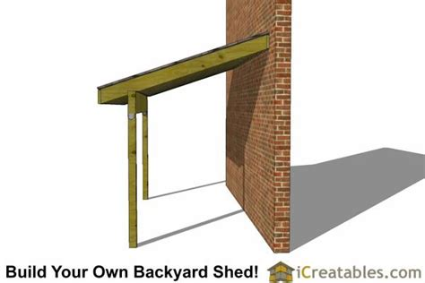 building a lean to on side of house 6x12 lean to shed side blueprint and material check list outside yard ideas