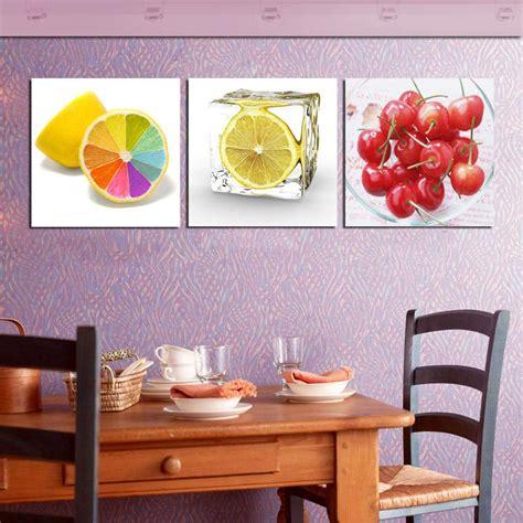 Lukisan Asli Kanvas Dekorasi Dinding Lukisan Rumah Kantor Murah Ld4512 es buah lukisan modern ruang dapur dekoratif gambar di dinding segar lukisan minyak kanvas 3