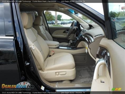 2013 Acura Mdx Interior by Parchment Interior 2013 Acura Mdx Sh Awd Technology