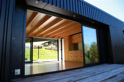 steel frame transportable prefab home  zealand modern