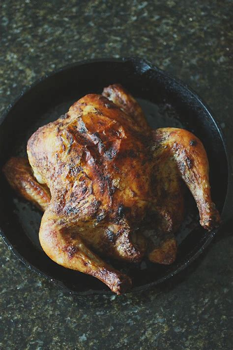 cast iron skillet roasted chicken dinner ideas pinterest