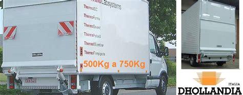 pedane per furgoni sponda idraulica automatica per furgoni centinati