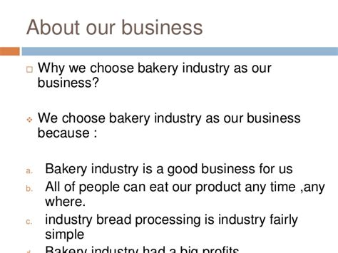 sle business plan on bakery business plan bakery by amelia and sara
