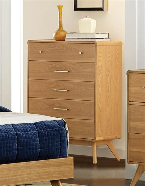 ash bedroom furniture homelegance anika dresser light ash 1915 5