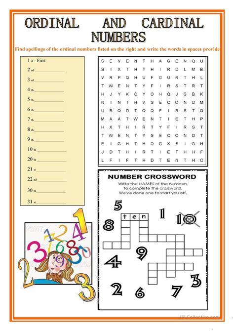 printable ordinal numbers chart free worksheets 187 ordinal number worksheet free math
