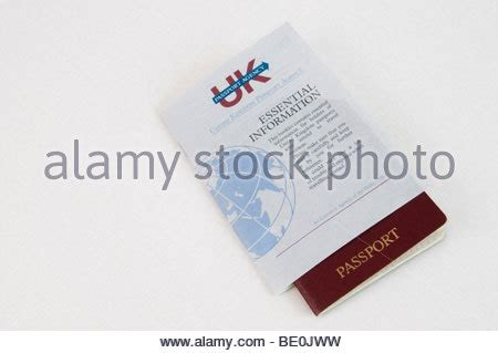 Passport With Felony Record Uk Passport Application Form Stock Photo Royalty Free