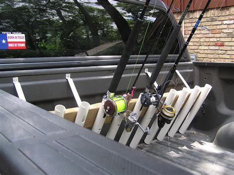p u truck rod holder the hull boating and