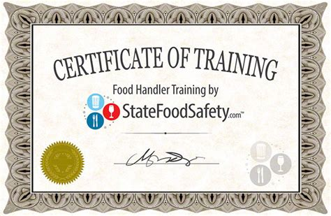 food handlers card safety permit statefoodsafety