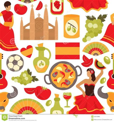 pattern party in spanish 17 best images about spain on pinterest vector clipart
