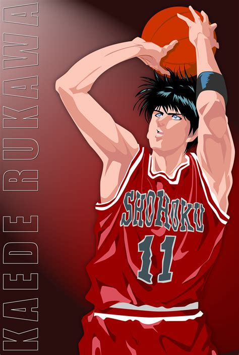 wallpaper hd anime slam dunk rukawa slam dunk desktop backgrounds for free hd