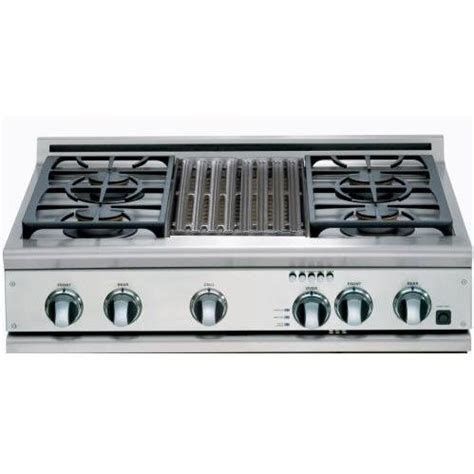 Thermador 36 Gas Cooktop With Downdraft thermador gas cooktop discount dcs cp 364gl ssn cooktop 36 6 burner gas
