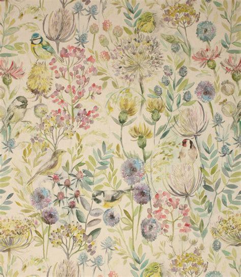 Voyage Decoration Morning Chorus Fabric / Linen   Just Fabrics