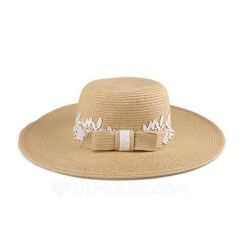 Kaos One Straw Hat classic papyrus with bowknot straw hat 196075600 hats jjshouse