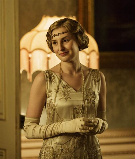 Abby S Gloves carmichael wearing opera gloves in downton